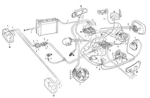 Schema motore ape 50